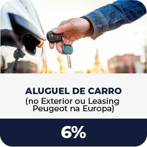 Aluguel de Carro - Comissão