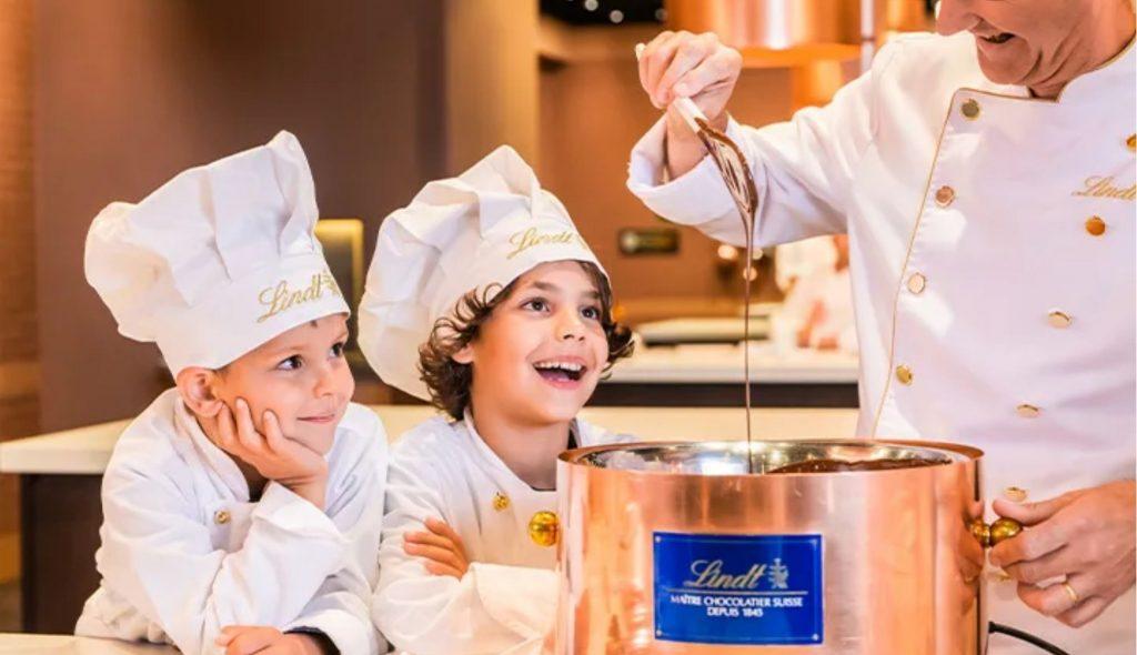 Conheça o Museu do Chocolate Lindt, em Zurique